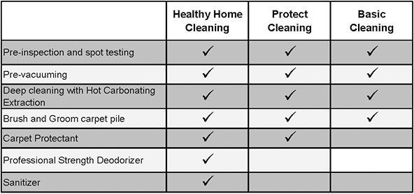 healthy home and carpet protectant