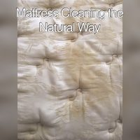 Side Comparison Of A Mattress Cleaning Done Chem-Dry